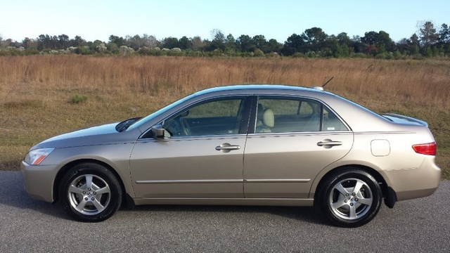 Picture of 2005 Honda Accord Hybrid Hybrid with Navigation FWD, exterior, gallery_worthy