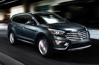 2014 Hyundai Santa Fe, Front-quarter view, exterior, manufacturer, gallery_worthy