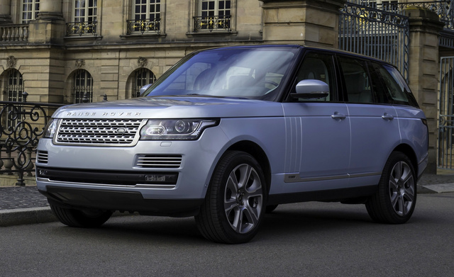 2014 Land Rover Range Rover, Front-quarter view, exterior, manufacturer, gallery_worthy