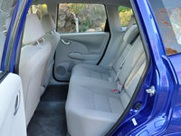 2014 Honda Fit EV rear seat, interior, gallery_worthy