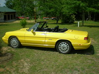 1993 Alfa Romeo Spider Picture Gallery