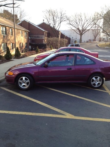 Picture of 1994 Honda Civic Coupe DX, exterior