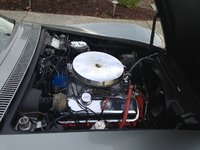 Picture of 1971 Chevrolet Corvette Coupe, engine