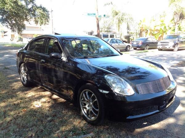 INFINITI G35 Questions - Need honest opinions on salvaged