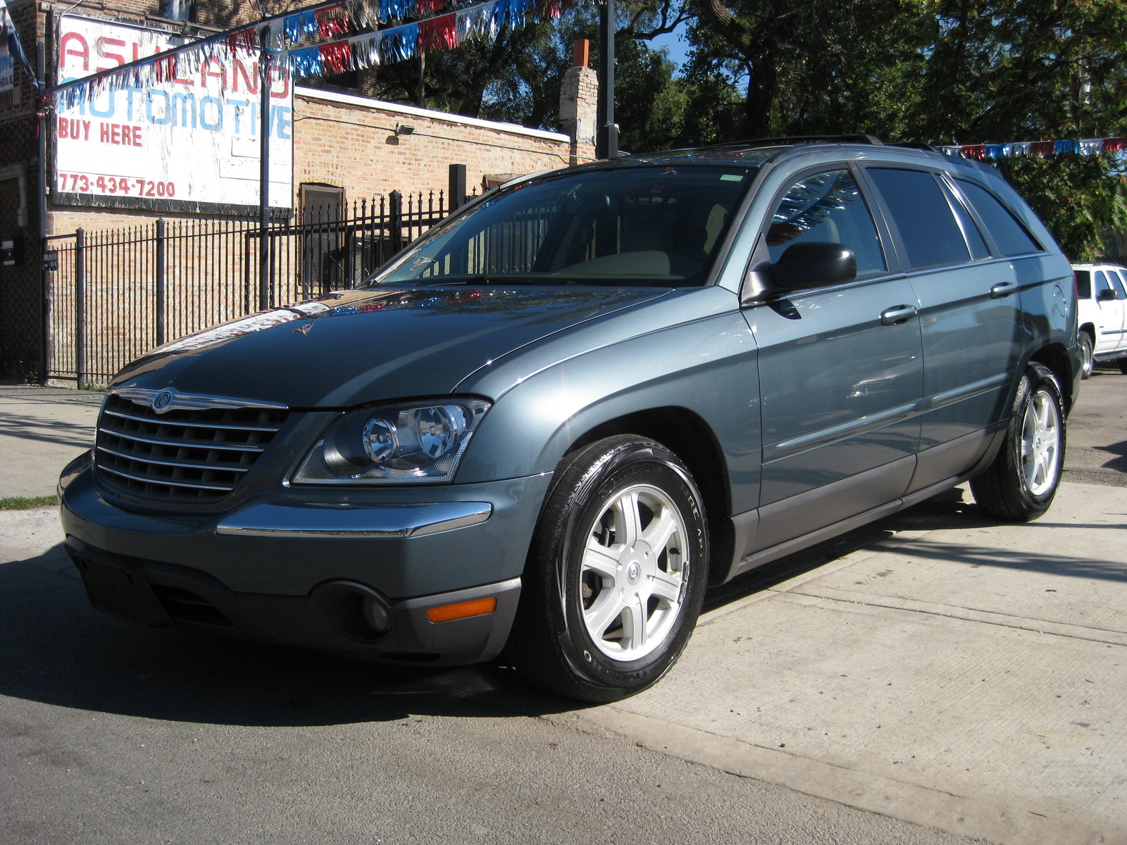 2005 chrysler pacifica touring awd picture exterior. Cars Review. Best American Auto & Cars Review