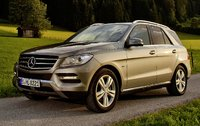 2014 Mercedes-Benz M-Class, Front-quarter view, exterior, manufacturer, gallery_worthy