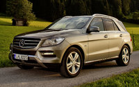 2014 Mercedes-Benz M-Class, Front-quarter view, manufacturer, exterior