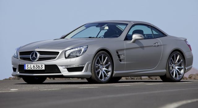 2014 Mercedes-Benz SL-Class, Front-quarter view, exterior, manufacturer, gallery_worthy