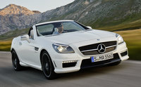 2014 Mercedes-Benz SLK-Class, Front-quarter view, exterior, manufacturer