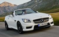 2014 Mercedes-Benz SLK-Class, Front-quarter view, exterior, manufacturer
