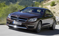 2014 Mercedes-Benz CL-Class, Front-quarter view, manufacturer, exterior