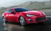 2014 Scion FR-S, Front-quarter view, exterior, manufacturer