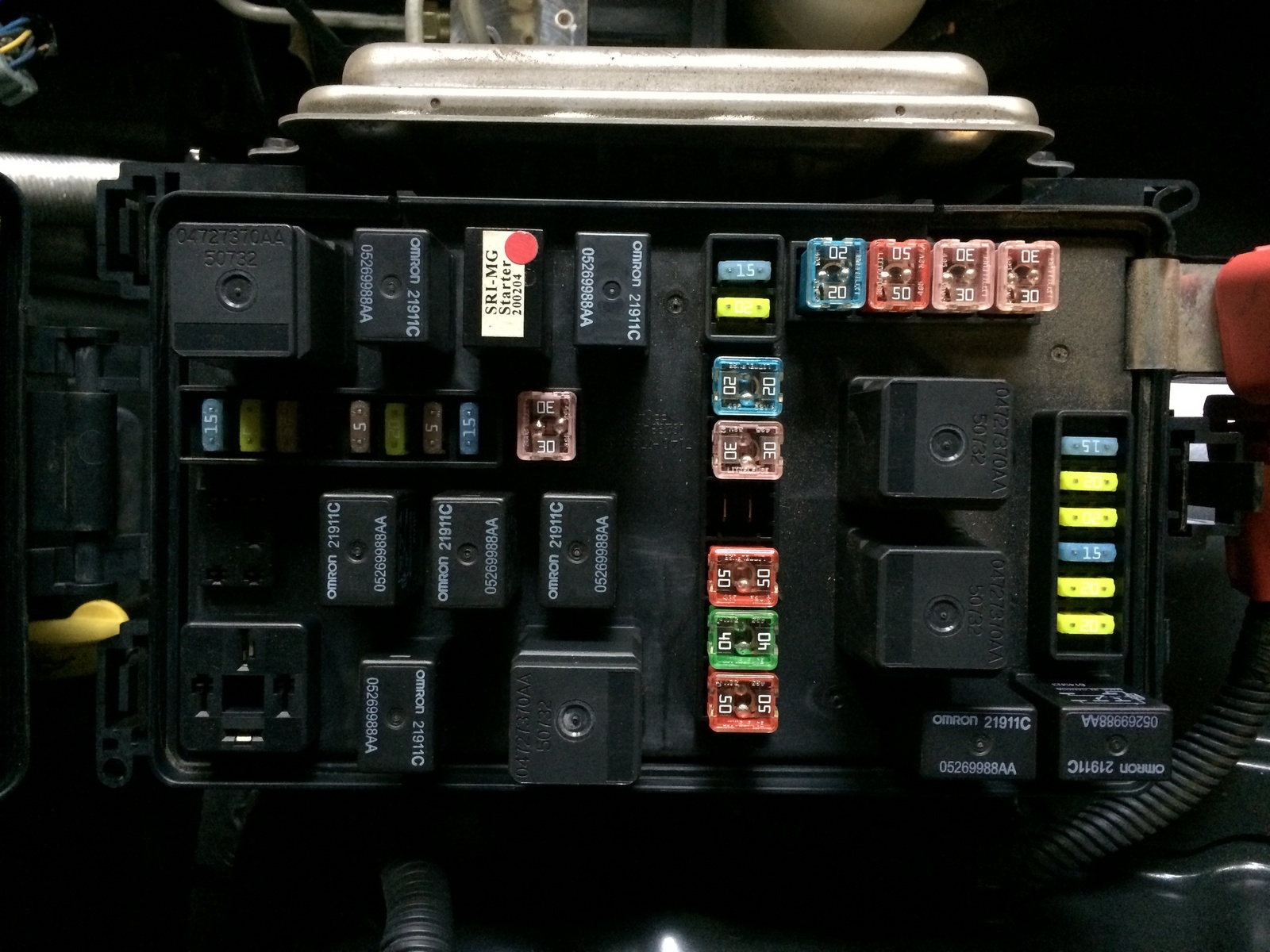 Pic X on Dodge Challenger Fuse Box Diagram