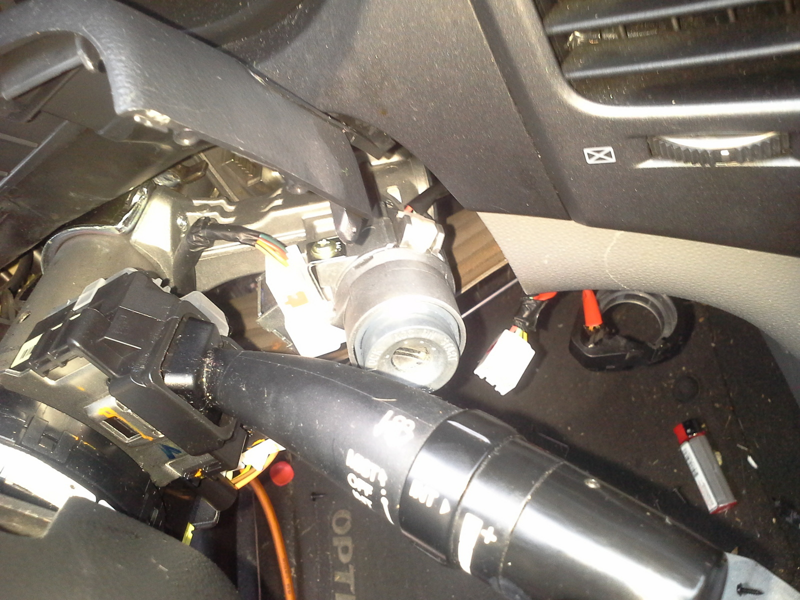 09 kia optima ignition lock cylinder/switch problem