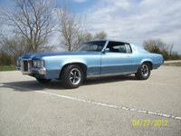 1969 Pontiac Grand Prix, as you see it when i bought it  (barn find), exterior