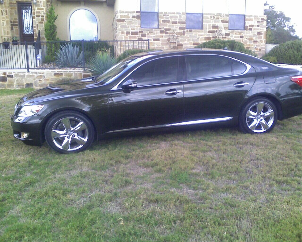 Picture of 2010 lexus ls 460 l exterior