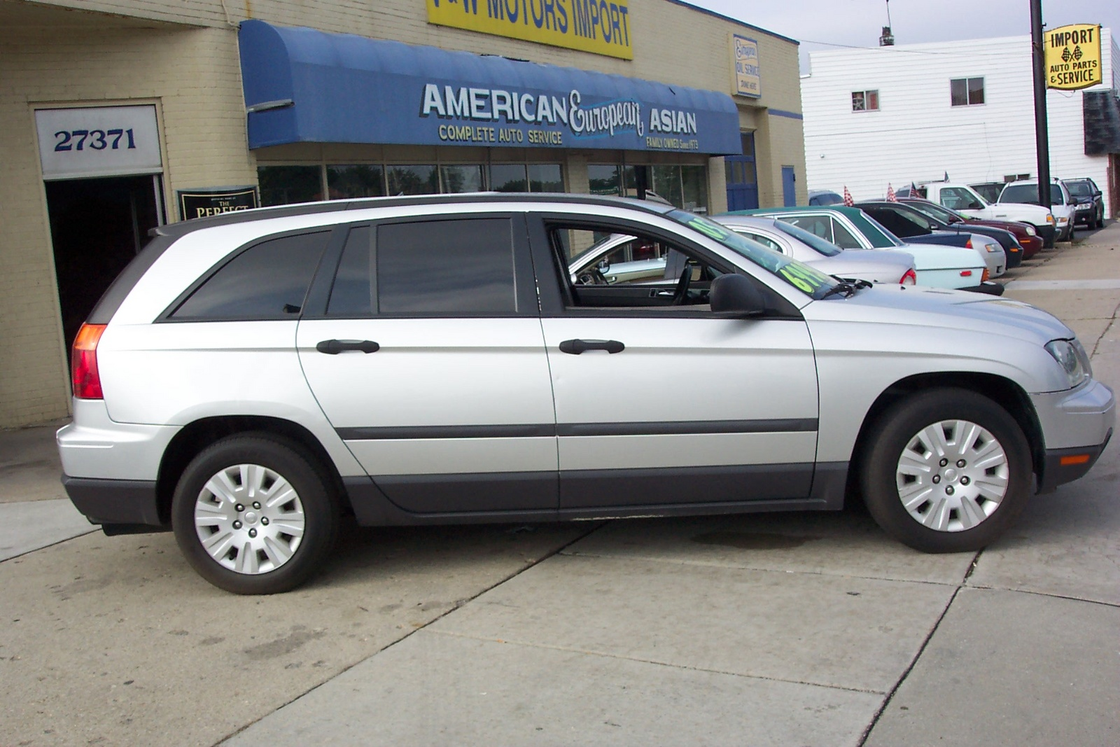 picture of 2005 chrysler pacifica base exterior. Cars Review. Best American Auto & Cars Review