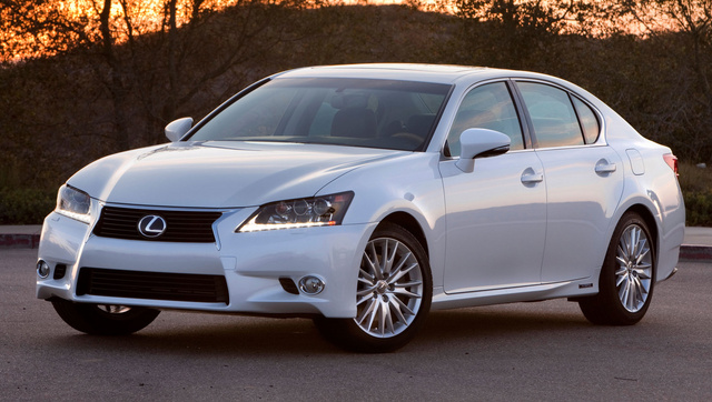 2014 Lexus GS 450h, Front-quarter view, exterior, manufacturer, gallery_worthy