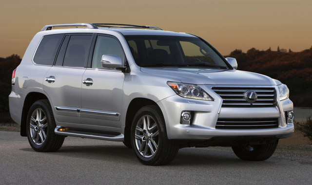2014 Lexus LX 570, Front-quarter view, exterior, manufacturer, gallery_worthy