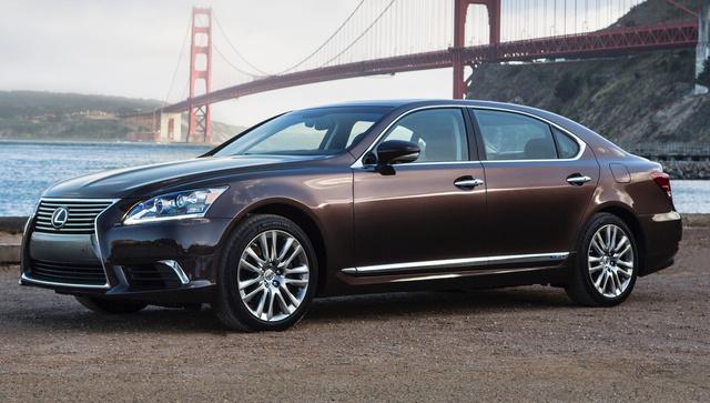 2014 Lexus LS 600h L, Front-quarter view, exterior, manufacturer, gallery_worthy