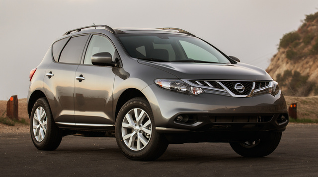 2014 Nissan Murano, Front-quarter view, exterior, manufacturer