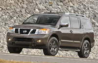 2014 Nissan Armada, Front-quarter view, exterior, manufacturer, gallery_worthy