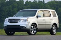 2014 Honda Pilot, Front-quarter view, exterior, manufacturer, gallery_worthy