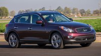 2014 INFINITI QX50, Front-quarter view, exterior, manufacturer, gallery_worthy