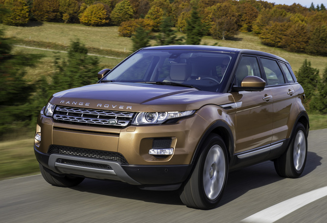 2014 Land Rover Range Rover Evoque, Front-quarter view, exterior, manufacturer