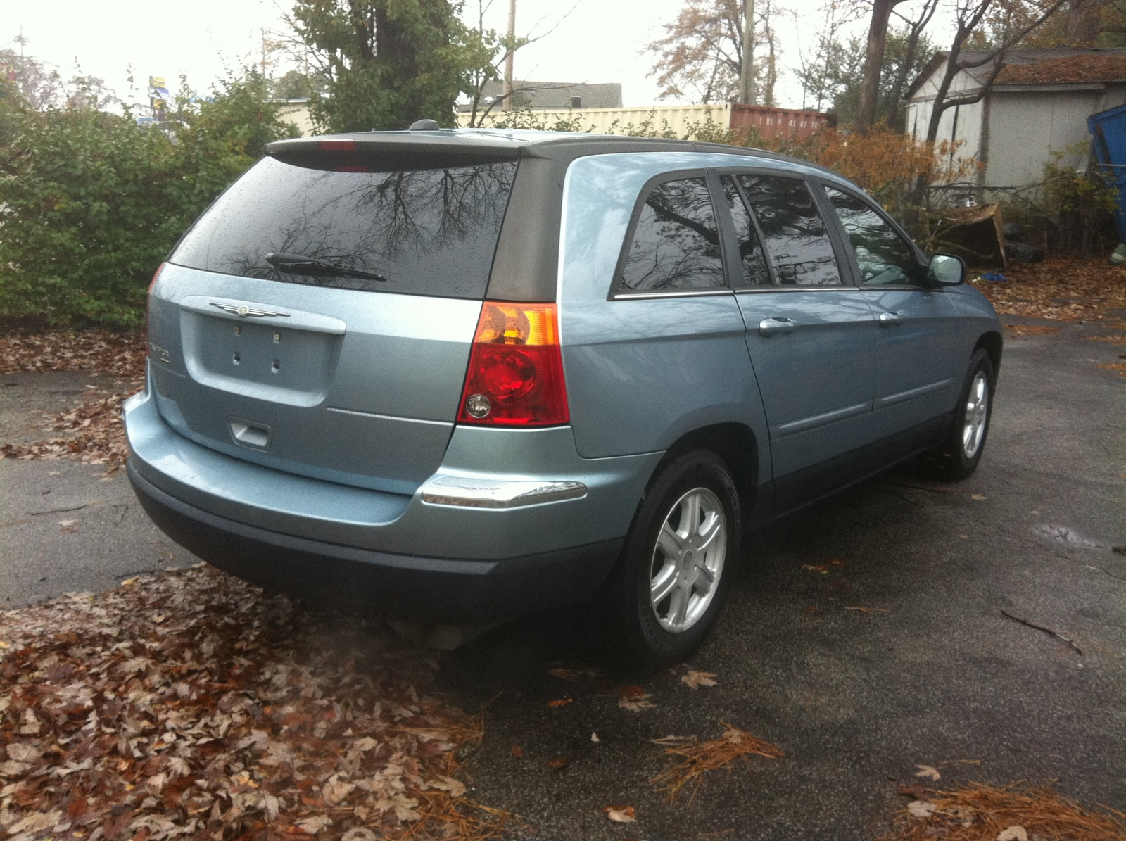 picture of 2005 chrysler pacifica touring exterior. Cars Review. Best American Auto & Cars Review