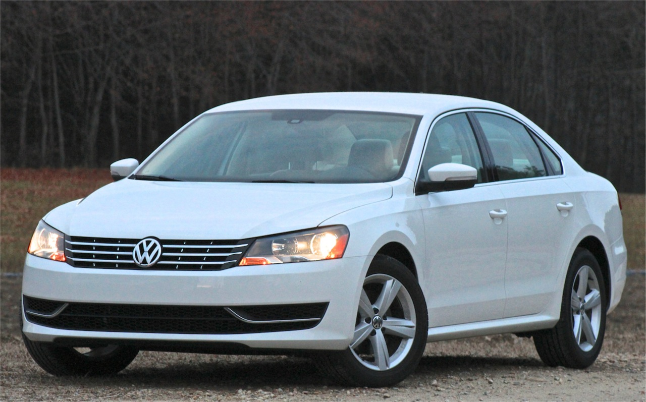 Front 3/4 of the 2014 Volkswagen Jetta TDI SE