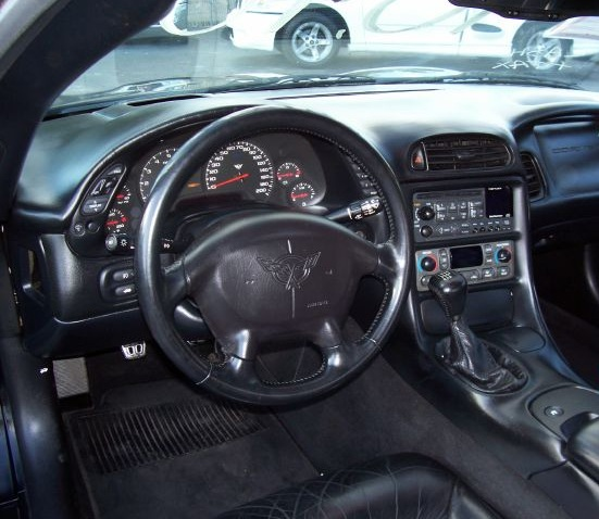 1995 Chevrolet Corvette Interior: 1999 Chevrolet Corvette