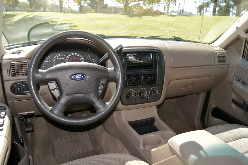 explorer ford 2002 xlt interior cargurus