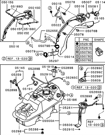 montero sport transmission diagram