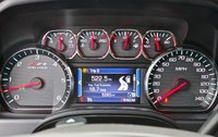 Instrument cluster of the 2014 Chevrolet Silverado 1500, interior