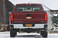 Rearview of the 2014 Chevrolet Silverado 1500