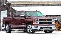 Front 3/4 of the 2014 Chevrolet Silverado 1500
