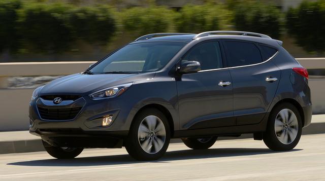 2014 Hyundai Tucson, Front-quarter view, exterior, manufacturer
