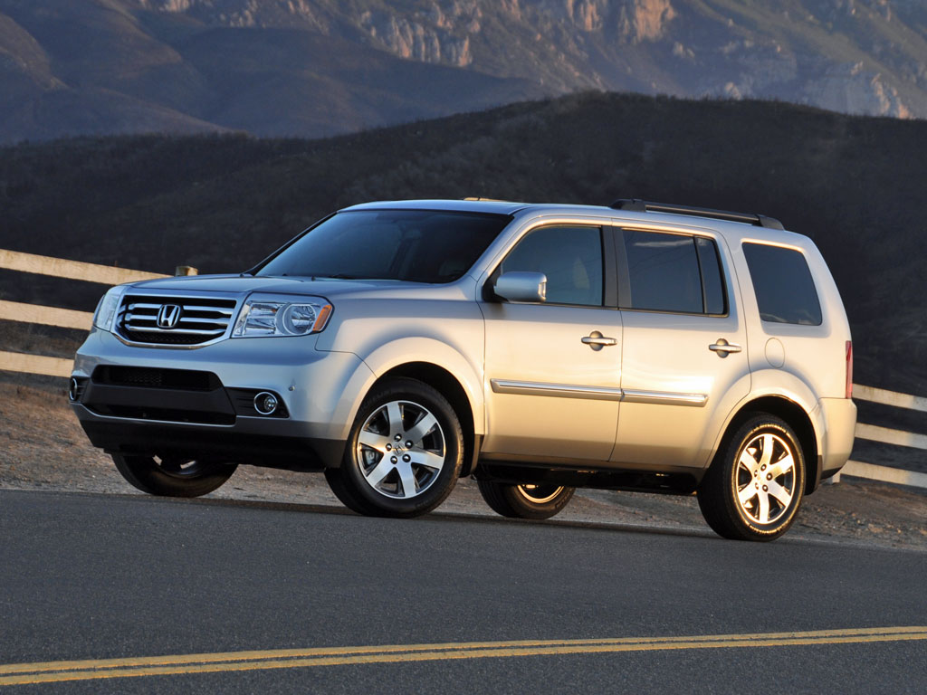 2014 honda pilot test drive review cargurus for Honda pilot images