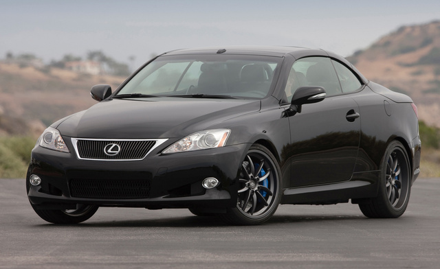 2014 Lexus IS C, Front-quarter view, exterior, manufacturer