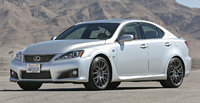2014 Lexus IS F, Front-quarter view, exterior, manufacturer