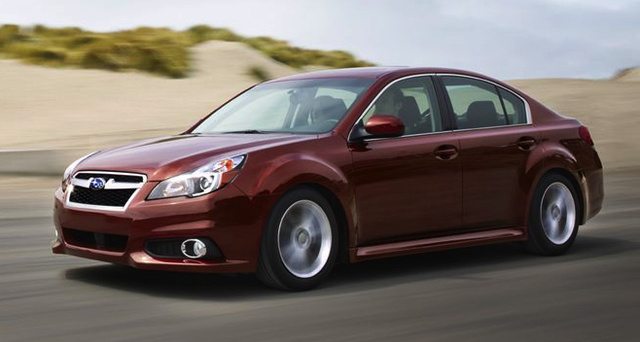 2014 Subaru Legacy, Front-quarter view, exterior, manufacturer, gallery_worthy