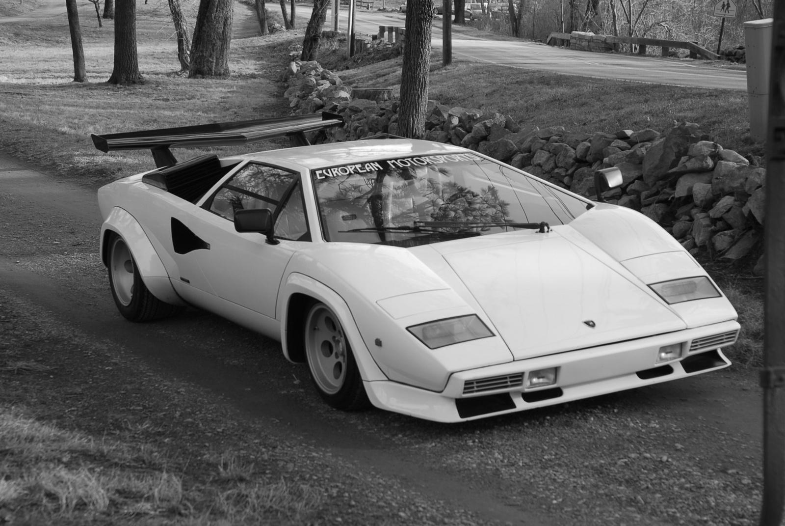 Lamborghini countach pics