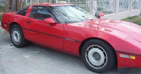 1987 Chevrolet Corvette Coupe, 1987 Chevrolet Corvette Base picture, exterior