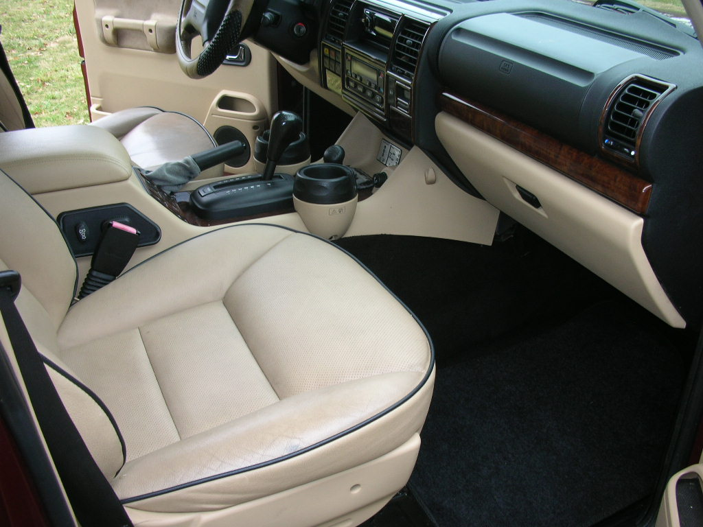 Land Rover Discovery 2004 Interior The Image Kid Has It