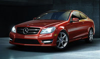 2014 Mercedes-Benz C-Class, Front-quarter view, exterior, manufacturer