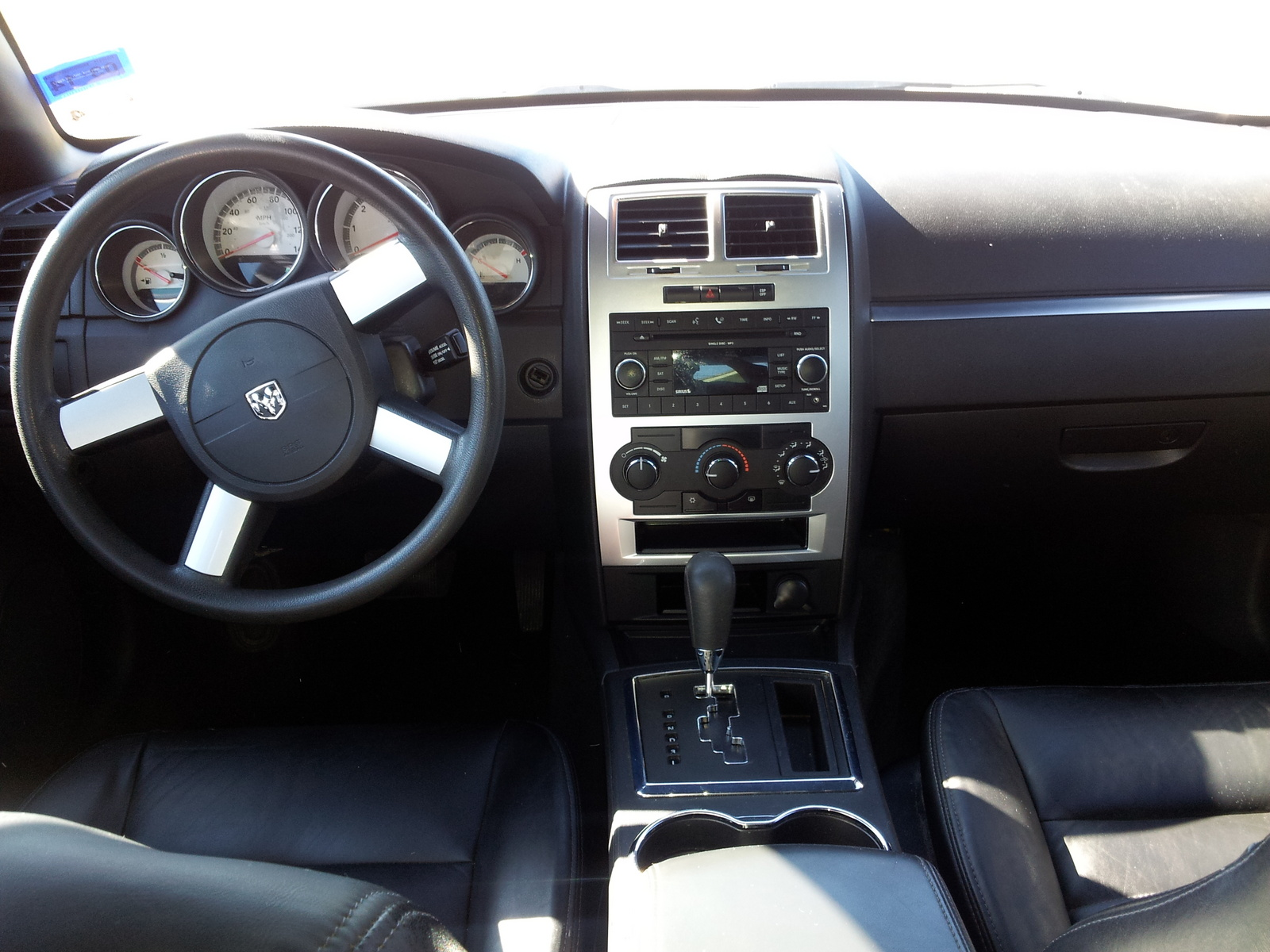 2008 dodge charger interior pictures cargurus. Cars Review. Best American Auto & Cars Review