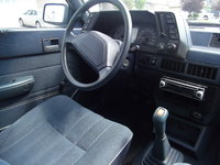 1992 Subaru Loyale 4 Dr STD 4WD Wagon, cockpit were all the action happens, haha, interior