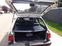 1992 Subaru Loyale 4 Dr STD 4WD Wagon, rear view with sun shade coverage, interior
