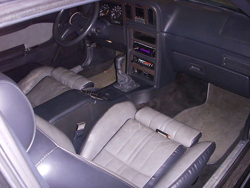 Picture of 1986 Ford Thunderbird Turbo, interior, gallery_worthy